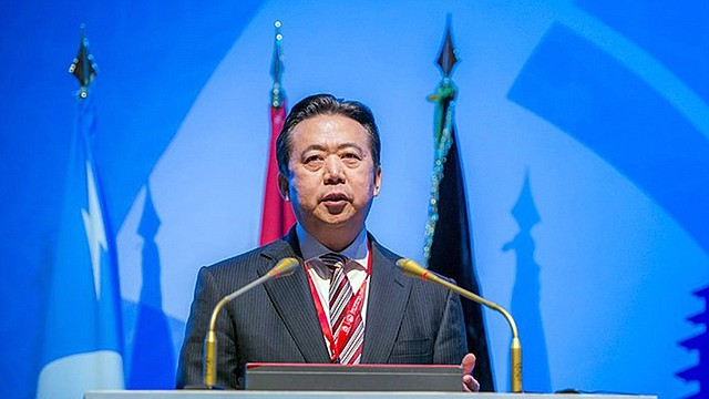 MUNDO. El presidente de la Interpol, el chino Hongwei Meng, durante un acto celebrado en Indonesia