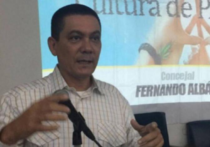 Familiares y amigos despidieron al concejal venezolano Fernando Albán
