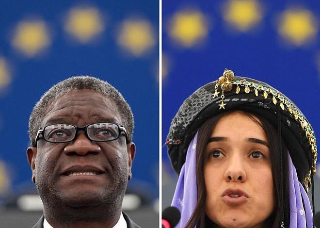 Nadia Murad y Denis Mukwege, Nobel de la Paz por lucha contra la violencia sexual