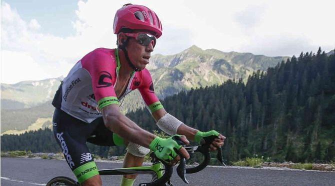Rigoberto Urán fue segundo del Giro de la Emilia
