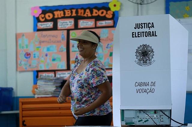 VOTACIÓN. Elecciones generales en Brasil