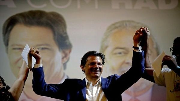 ELECCIONES. Actualmente busca apoderarse de la presidencia como el heredero de Lula, quiera era el favorito con 39% de aceptación en las encuestas.