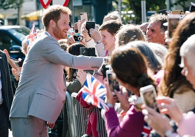 El incómodo encuentro del príncipe Harry con una de sus ex novias