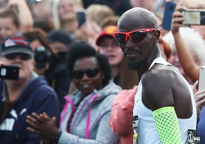 En Maratón de Chicago voló Mr. Mo Farah
