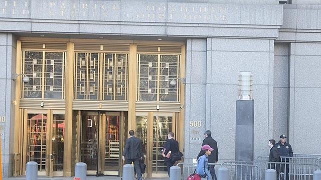JUSTICIA. Foto de referencia de una corte federal de Nueva York