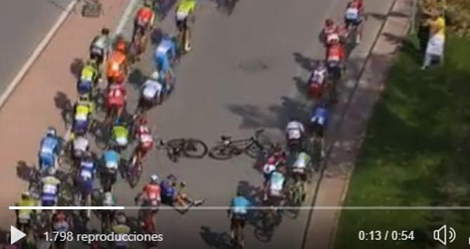 Fernando Gaviria sufrió fractura de clavícula en la Vuelta a Turquía