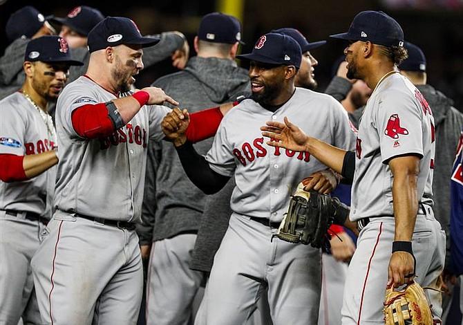 Celebración de Boston en el Bronx: BoSox por el banderín de la Americana