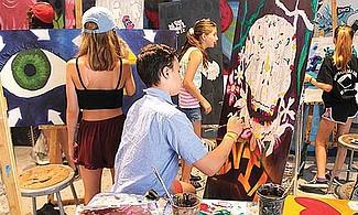 TCTA. Extendió sus alternativas para que lo chicos exploren áreas creativas y compartir con personas de su edad.