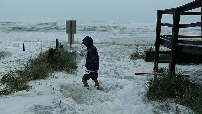 En las próximas horas se apreciarán las consecuencias del paso del Huracán Michael.