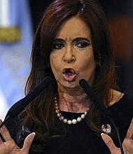 """JUSTICIA. """"La jefa de la asociación ilícita es sin duda alguna Cristina Elisabet Fernández"""", dijo el juez."""