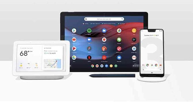 Google presentó dos nuevos celulares, una tableta y un asistente inteligente