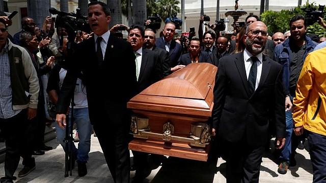 INVESTIGACIÓN. Fernando Albán, político encarcelado por el régimen de Nicolás Maduro, murió mientras estaba bajo el cuerpo de la policía política del país, lo que generó preocupación en Francia y en el resto del mundo.