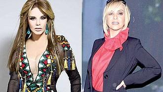 Lucía Méndez y Daniela Castro.