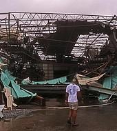 La devastación del huracán Michael.