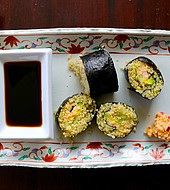 El sushi aporta más que un delicioso sabor.