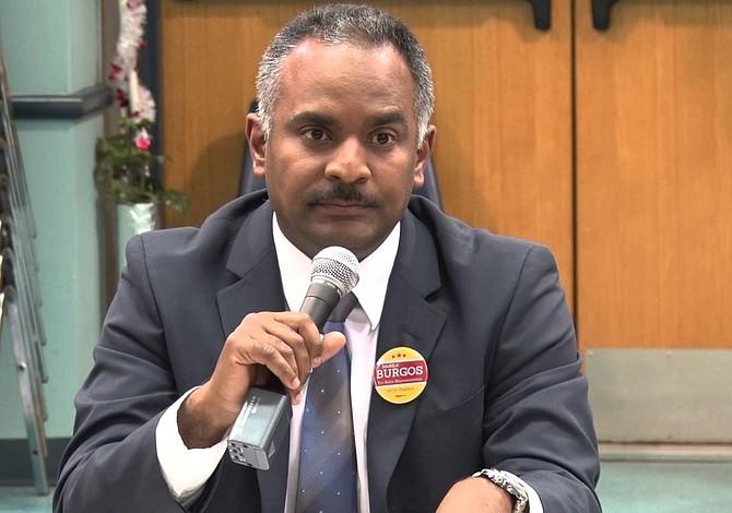 Danilo Burgos llama a votar demócrata el 6 de noviembre