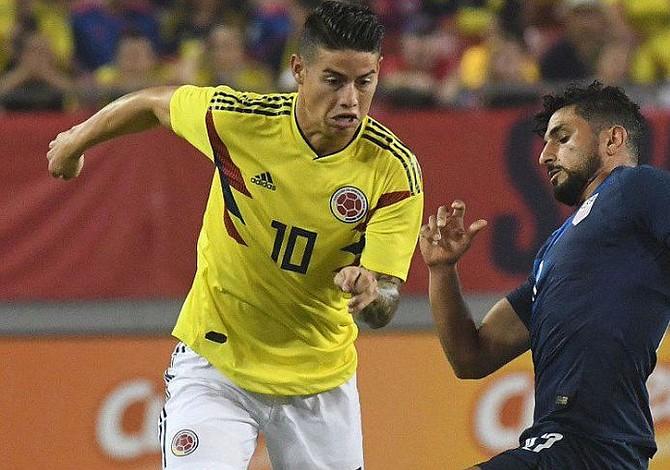 Una Colombia guiada por James se impuso a EEUU