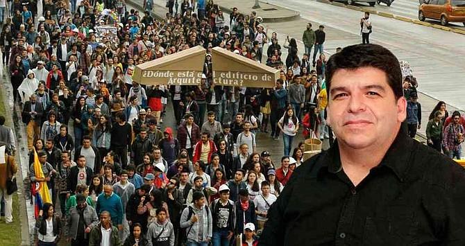 """COLOMBIA - """"Si seguimos así vamos a llevar la educación pública a una debacle"""""""