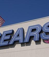 NACIONAL. Fotografía de archivo del 11 de octubre de 2018, del logo de Sears en la fachada de una de sus tiendas en Northridge, California