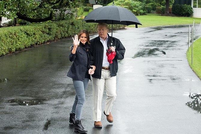 WASHINGTON. Trump visita este lunes 15 de octubre los estados de Georgia y Florida para comprobar la devastación causada por el huracán Michael