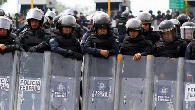 MÉXICO. Refuerzan la seguridad fronteriza por caravana de migrantes hondureños
