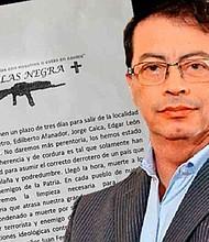 COLOMBIA. Denunció que el grupo Águilas Negras está detrás de la acción