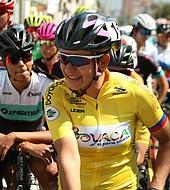 La pedalista de 28 años y nacida en Zapatoca pronto estará pedaleando para el equipo mexicano Swapit Agolico que hace parte del World Tour.