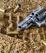 Foto de referencia de un arma de fuego