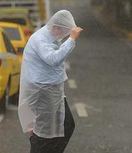 EL SALVADOR. Las temperaturas se mantendrían relativamente cálidas entre los 29 y 30 grados para la zona central y occidental