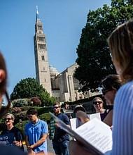 EE.UU. Basílica del Santuario Nacional de la Inmaculada Concepción en Washington