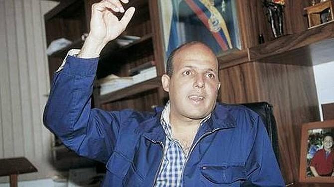 Extesorero venezolano Alejandro Andrade