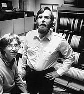 Paul Allen y Bill Gates revolucionaron el mundo del software.