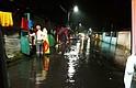 EL SALVADOR. 15 viviendas fueron inundadas en la comunidad La Ostra, en Santa Tecla