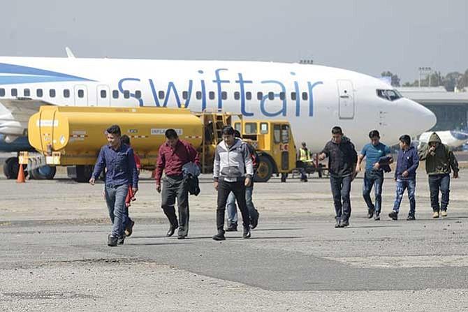 Récord de guatemaltecos detenidos en la frontera