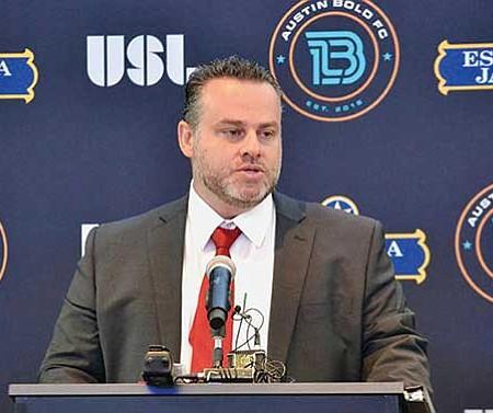 EXPECTATIVAS. Marcelo Serrano, entrenador en jefe del Austin Bold FC, dirigirá la prueba de talentos y su opinión será determinante.