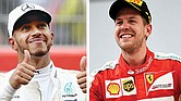 FIESTA EN EL COTA. El duelo entre el inglés Lewis Hamilton y el alemán Sebastian Vettel podría definirse en el circuito de Austin.