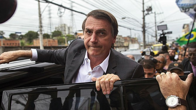 """ELECCIONES. """"Por un Brasil mejor, deseo paz, seguridad y alguien que nos devuelva la alegría. Escogí vivir en Brasil y quiero un Brasil mejor para todos"""", escribió."""