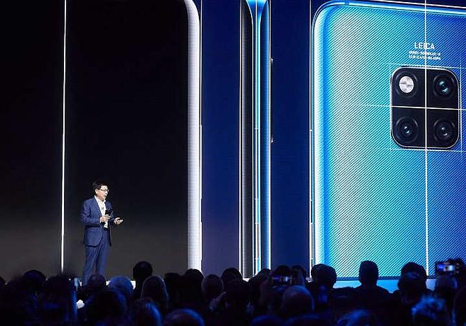 Huawei presenta la nueva serie de smartphones Mate 20