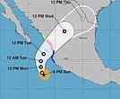 Así será el recorrido del huracán Willa.