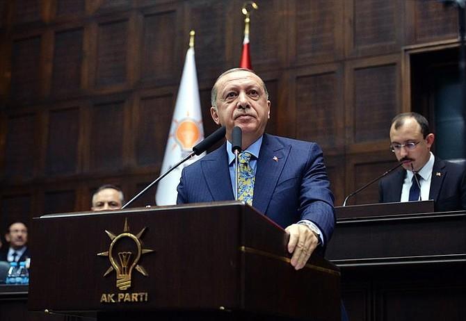 ANKARA. El presidente de Turquía, Recep Tayyip Erdogan, en el Parlamento el 23 de octubre de 2018