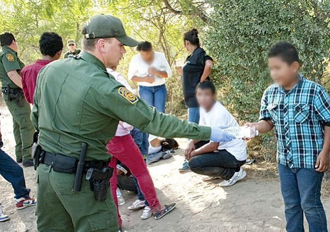 Aumentan los indocumentados detenidos en la frontera sur