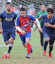 CONTUNDENTE. En el partido de la fecha 9 de la Liga Guatemalteca MD entre La Reforma vs Deportivo Fas, este último equipo resultó triunfador con 6 goles contra cero de La Reforma. El duelo se llevó a cabo en la cancha de la Buck Lodge Middle School.