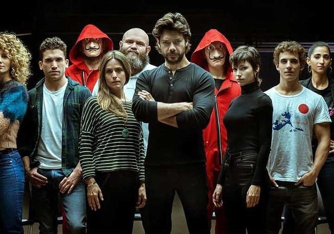 Netflix anuncia el rodaje de la tercera temporada de La Casa de Papel