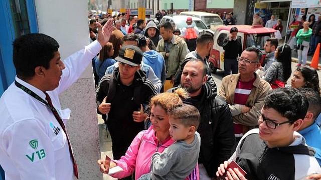 ACCIONES. El Gobierno peruano dejará de dar el Permiso Temporal de Permanencia (PTP) a los venezolanos, tras haber acogido a casi medio millón y evaluará si está en condiciones de seguir recibiendo a más inmigrantes de ese país.