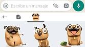 ¿Cómo usar los nuevos 'stickers' de WhatsApp?