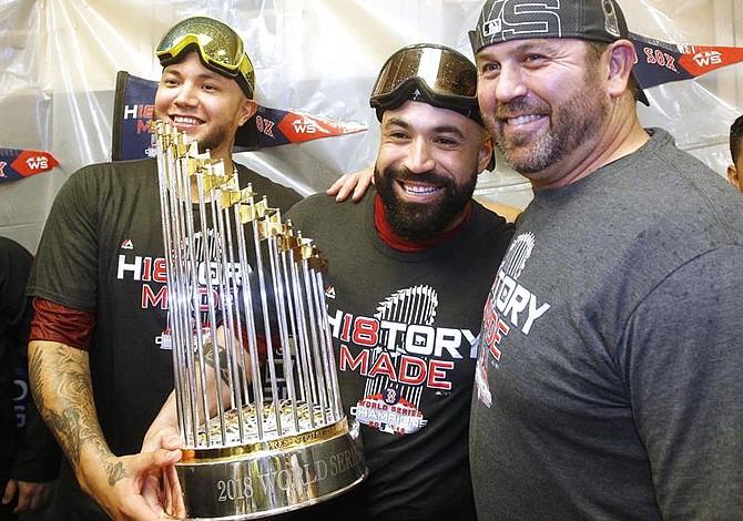 Brian Johnson y Héctor Velázquez representarán a los Red Sox en Japón