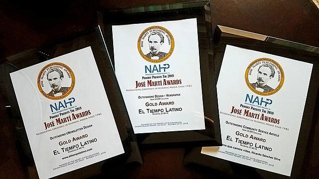 DISTINCIÓN. Este premio distingue a los mejores medios de comunicación latinos de EE.UU. en contenido, gráficos, marketing y en el área digital