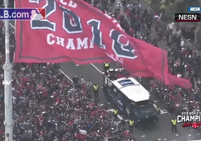 Miles aplauden a los campeones Medias Rojas