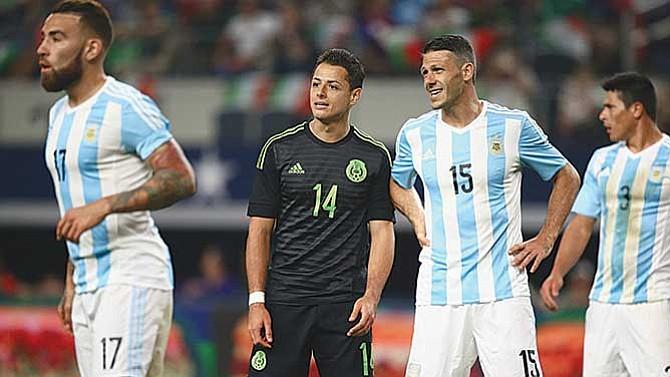 Amistosos entre México y Argentina confirmados