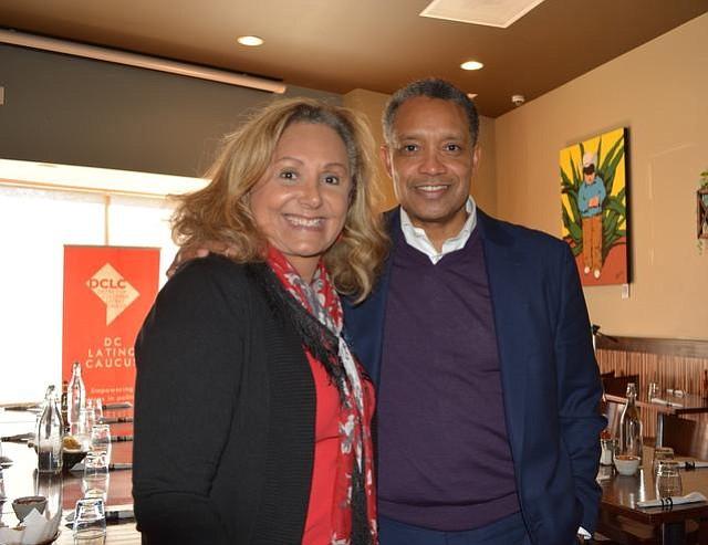 Representación. Karl Racine, actual fiscal general y quien está corriendo para la reelección, junto con Silvia Martínez, la primera latina que representará a DC en el colegio nacional electoral del Partido Demócrata.
